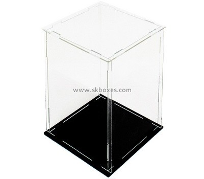 Custom acrylic collapsible display case BDC-2236