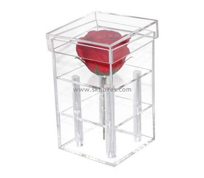 Custom acrylic rose box BDC-2253