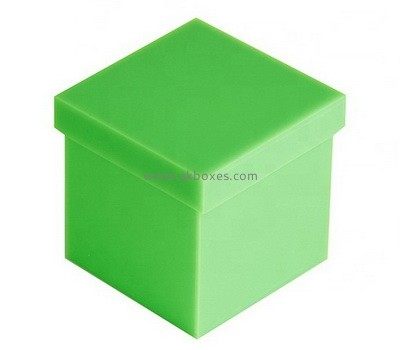 Custom green acrylic wedding gift box BDC-2260